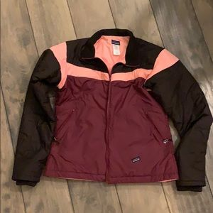 Patagonia Tri-Color Puffy Jacket, Large